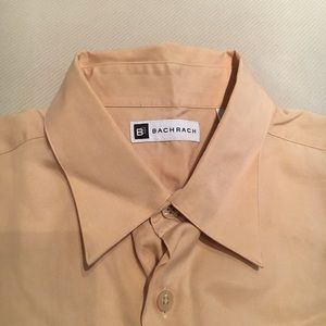 Bachrach button down shirt tan
